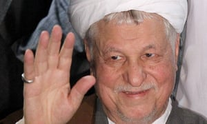 Akbar Hashemi Rafsanjani registers his candidacy in Iran's presidential election on Saturday