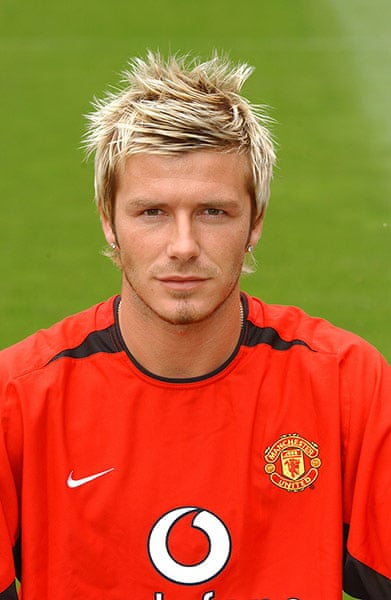 David Beckham A Career In Hairstyles In Pictures Football The