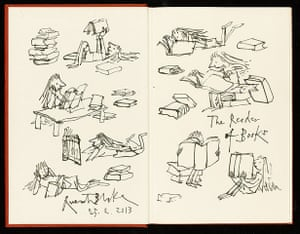 From the margins: Quentin Blake