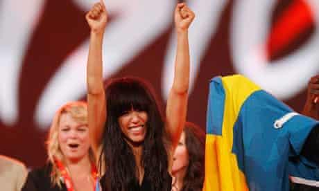 Loreen, Swedish winner of Eurovision Song Contest 2012