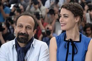 The Past: The Past director Asghar Farhadi and lead actress Berenice Bejo