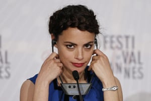 The Past: Berenice Bejo at The Past press conference