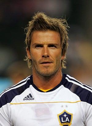 David Beckham hairstyles: David Beckham in 2010