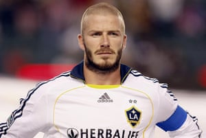 David Beckham A Career In Hairstyles In Pictures Football - David beckham hairstyle la galaxy