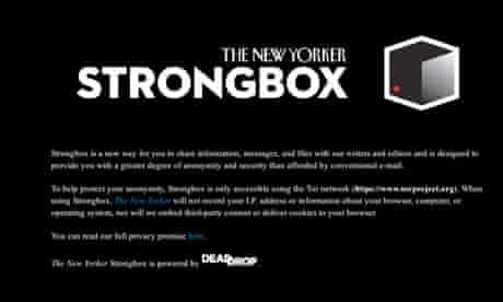 New Yorker Strongbox