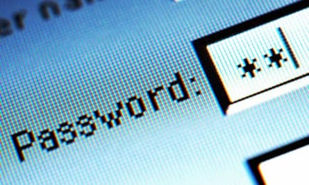 Password screenshsot