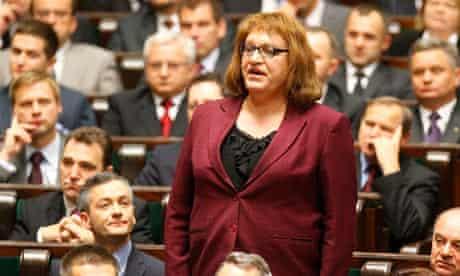 Grodzka, first transgender Polish MP