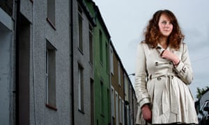 Psychology student Emma Campbell, who suffers extreme anxiety attacks, in Bangor, north Wales