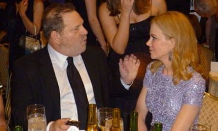 Harvey Weinstein charms party-goers at Cannes