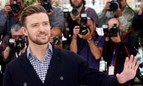 Justin Timberlake poses during a photocall for Inside Llewyn Davis, in Cannes, France