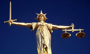 Scales of justice, Old Bailey