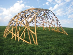 Urgent Architecture: Bamboo shelter