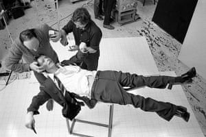David Bowie by Duffy: The Lodger Set Build