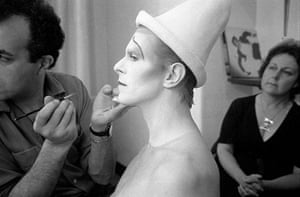 David Bowie by Duffy: Scary Monster Makeup (Behind The Scenes Never Before Seen)