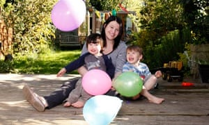 Cath Harrop is organising a birthday party for her son