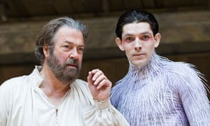 Roger Allan and Colin Morgan in The Tempest