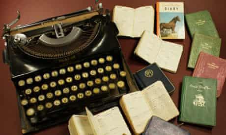Enid Blyton typewriter