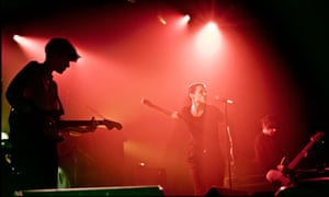 Savages on stage at the Electric Ballroom in Camden, north London.