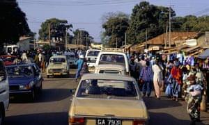 冈比亚街景