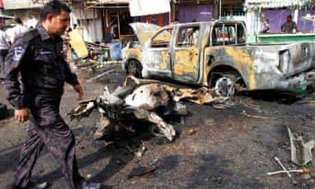 Iraq bomb blasts in Basra