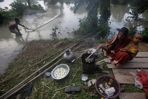 top 10 Natural Disasters: Displaced people: India
