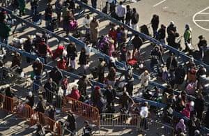 top 10 Natural Disasters: Displaced people : Sandy
