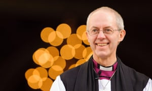 Justin Welby, the archbishop of Canterbury.