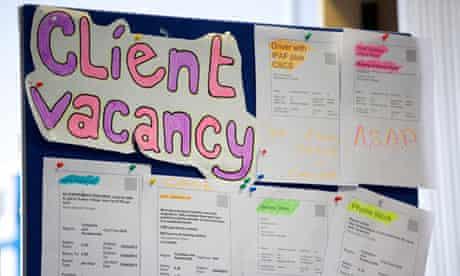 Work Programme vacancies
