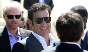 Clive Owen at the photocall for the film Blood Ties at Cannes.