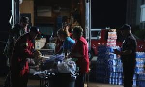 American Red Cross in Moore, Oklahoma, after tornado