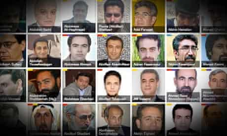 Iran's prisoners of conscience - an interactive guide