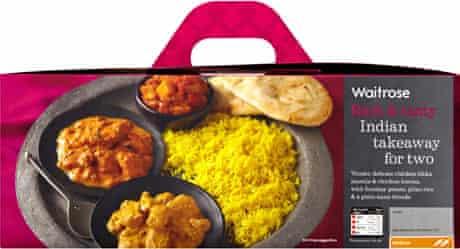 Waitrose Indian Takeaway For Two