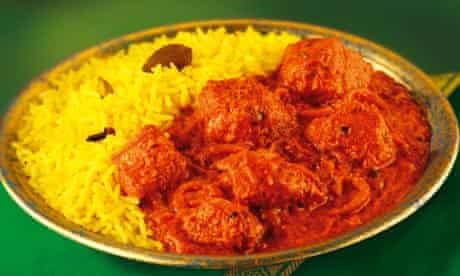 An Indian curry