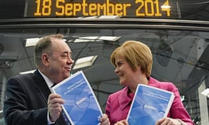 Alex Salmond and Nicola Sturgeon launch a paper outlining Scotland's economic case for independence