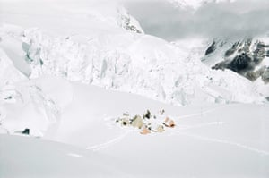 everest: A camp on the snows of Everest