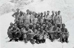 everest: The 1953 Mount Everest team