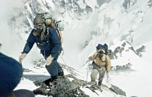 everest: Edmund Hillary and Tenzing Norgay approaching 28-000 feet