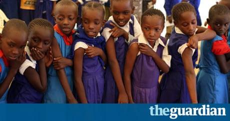 kenyan children reciving vaccine - photo #23