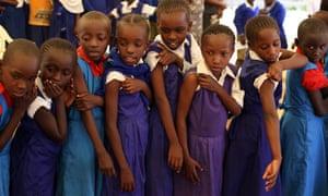 Kenya cervical cancer vaccinations