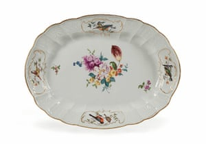 First Time Out : Oval dish from service used by Ferdinand de Rothschild