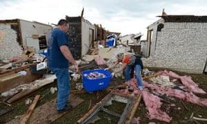 Moore, Oklahoma tornado aftermath