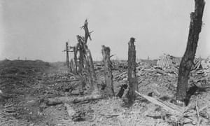 Devastated Battlefield of The Somme, 1916