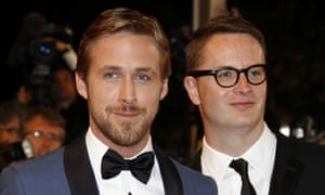 Only God Forgives director Nicolas Winding Refn and  Ryan Gosling at the 64th Cannes Film Festival.