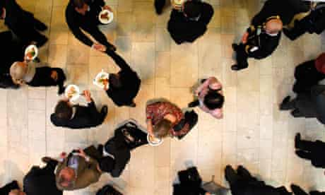 Crowd networking event