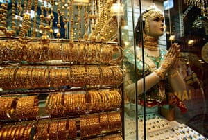 WGC gallery: WGC: Jewelry at Dubai Gold Market