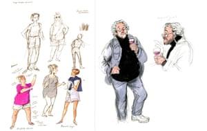 Posy Simmonds sketchbook: posy simmonds - sketchbook