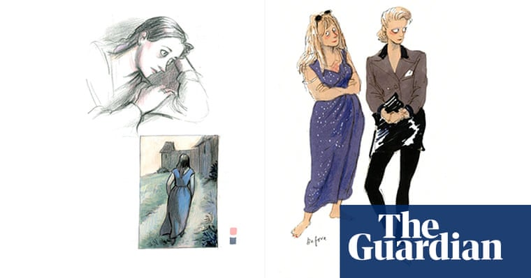 Posy Simmonds S Sketchbook Books The Guardian