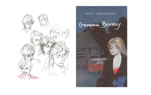 Posy Simmonds sketchbook: Posy Simmonds sketchbook