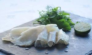 Smoked Gigha halibut