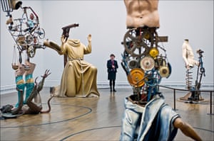 Michael Landy: Saints Alive at the National Gallery.